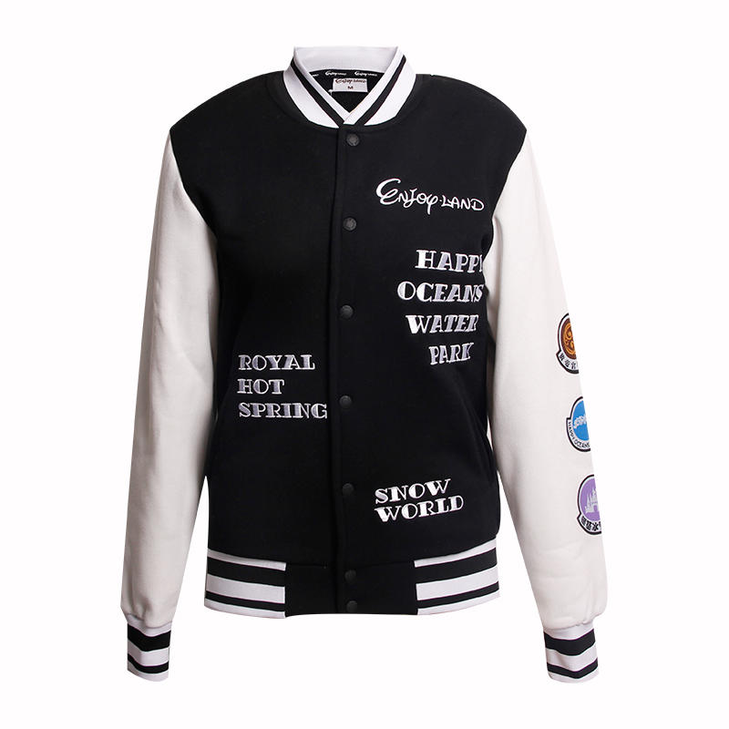 womens spring jacket ladies College Baseball jacket