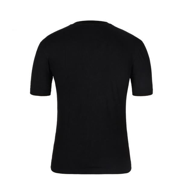 mens compression t shirt black printing