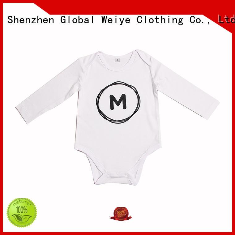 Global Weiye soft baby girl romper suits lovely rompers for girl