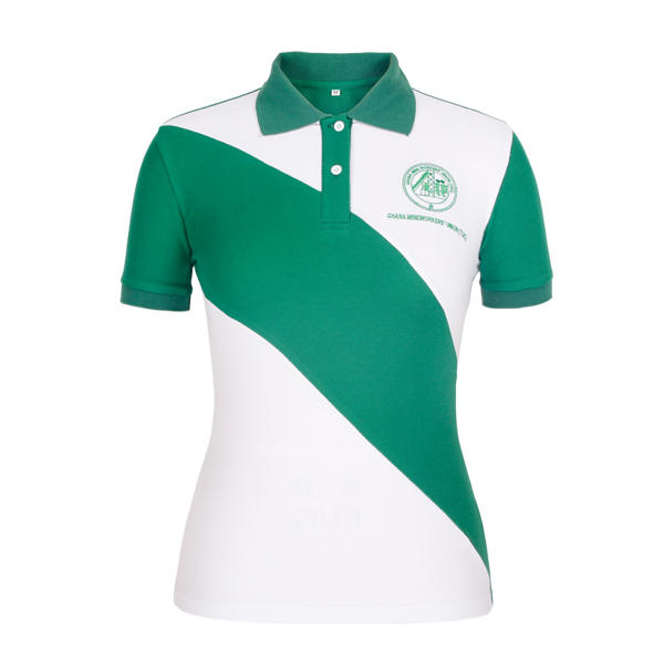 colored ladies cotton polo shirts design for ladies-1