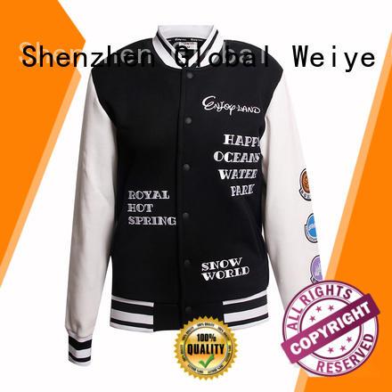 Global Weiye windproof winter wear jackets for womens for women