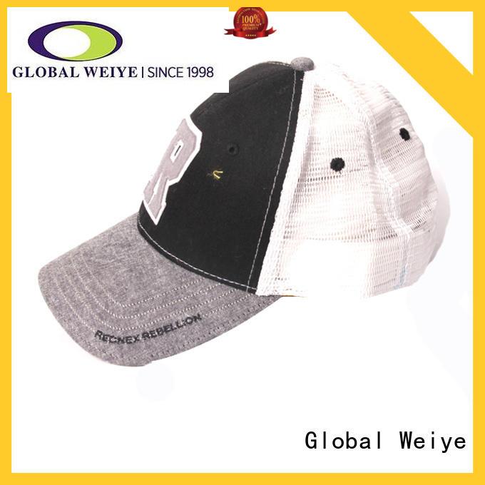 Global Weiye cool buy baseball cap for men