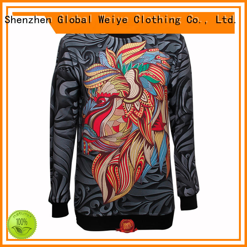 Global Weiye high quality best sweatshirts uality for women