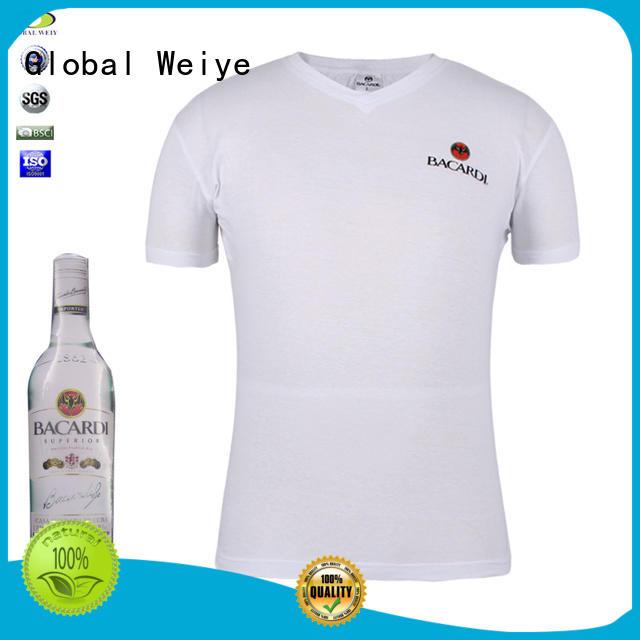 shirt customized short sleeve compression shirt Global Weiye Brand