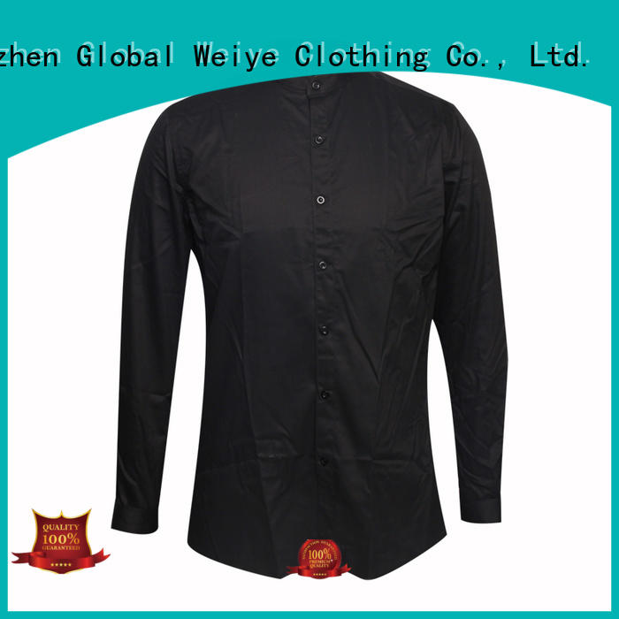 company uniform shirts with zipper for sale Global Weiye