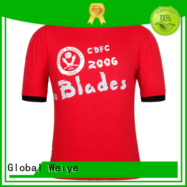 Global Weiye screen cheap mens t shirts supplier for men
