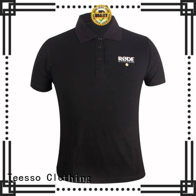 Teesso latest mens polo tops short from china