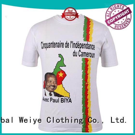 Global Weiye vote t shirt hon for men