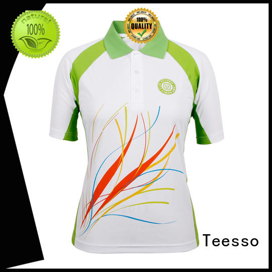 Teesso womens polo embrodiery for girls
