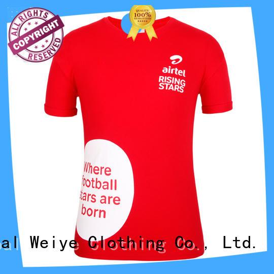 Global Weiye men's fashion t shirts manufacturer for men