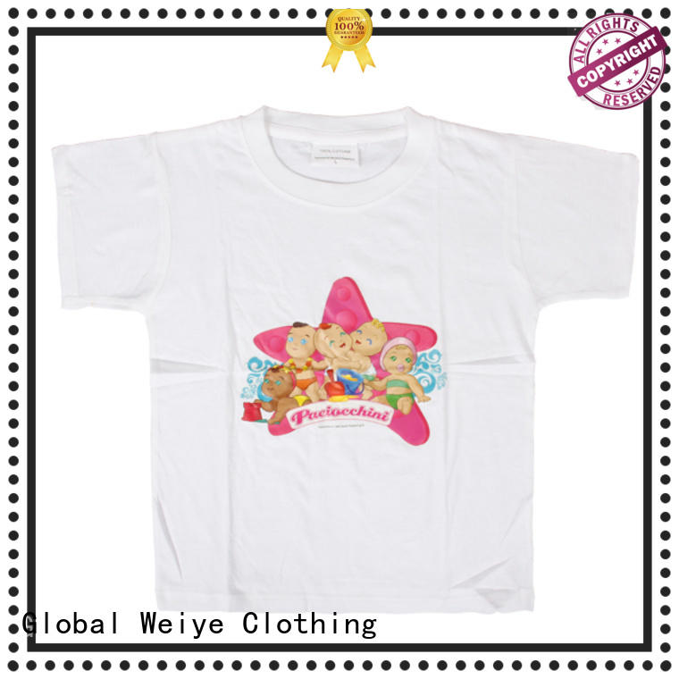 kids cotton shirts shirts girls Global Weiye