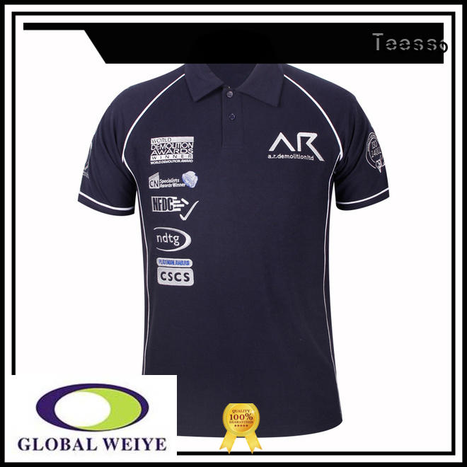 Teesso pocket best mens polo shirts embroidery
