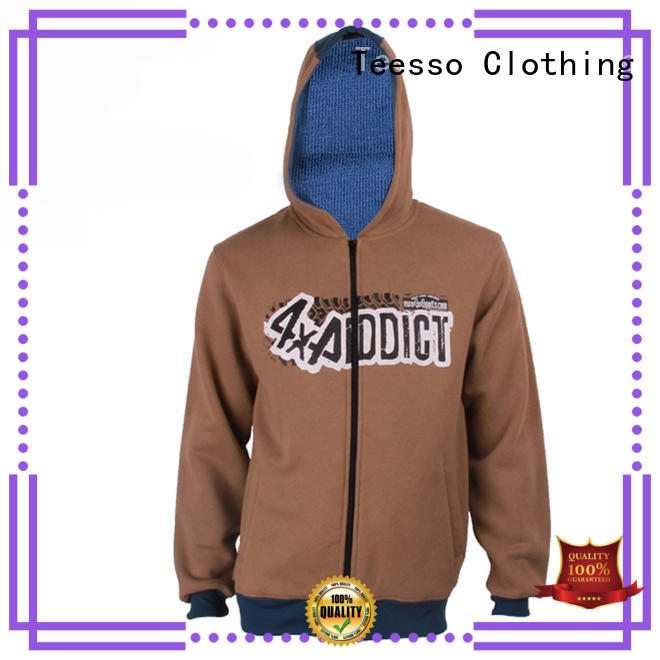 fashion womens zip up hoodie printing for women