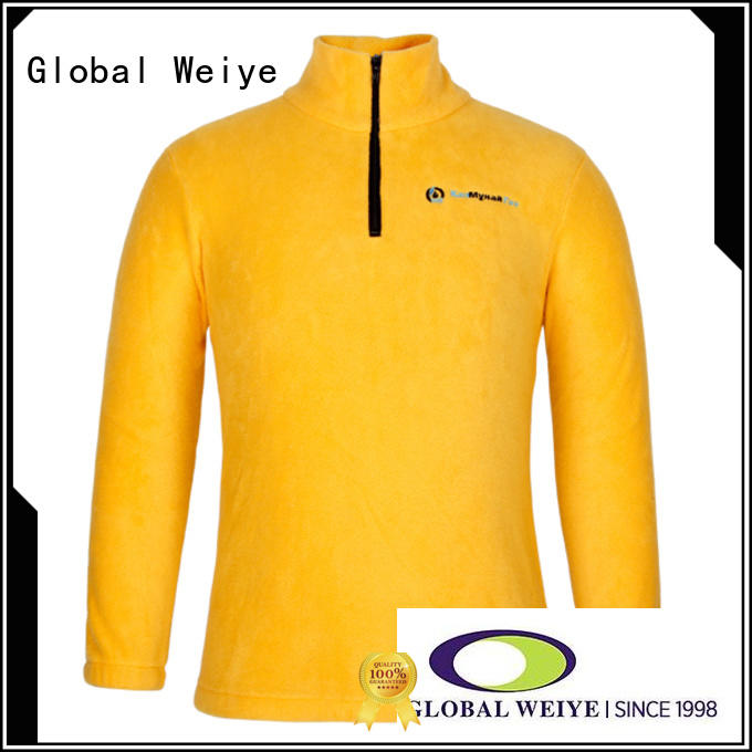 Global Weiye zip best sweatshirts for sale