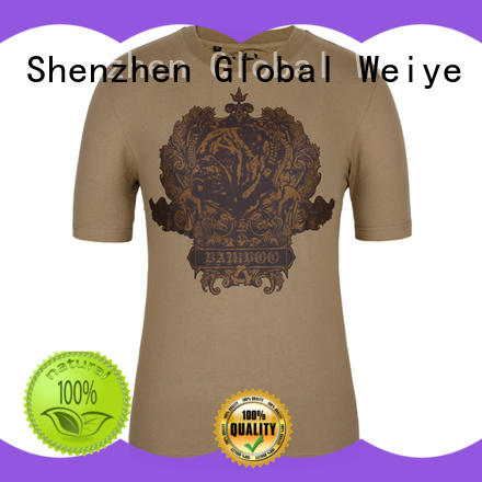 Global Weiye template fitted t shirts mens supplier for party
