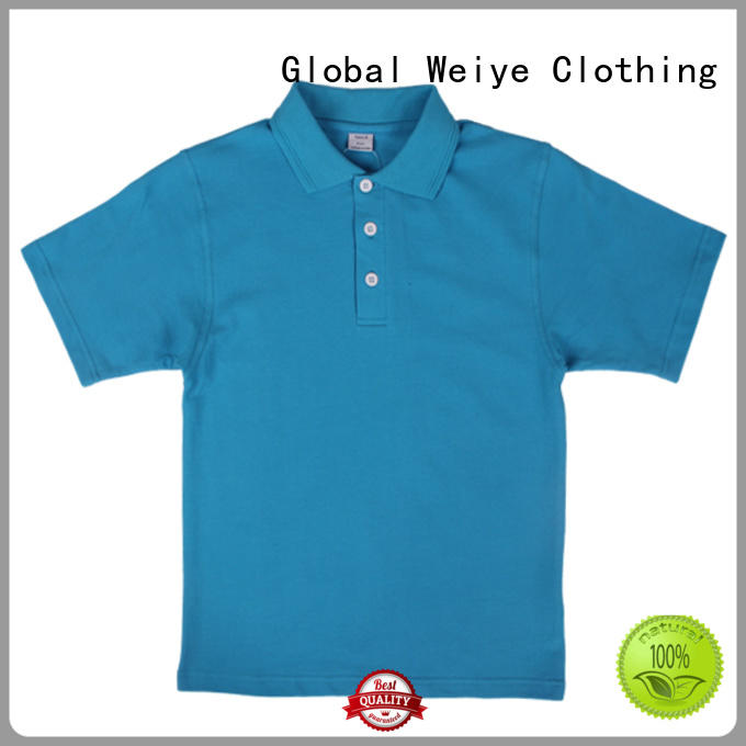 kids polo tops colorful for children Global Weiye