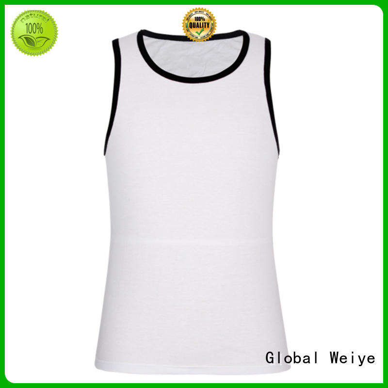 hot sale mens casual tank tops cotton for sale Global Weiye