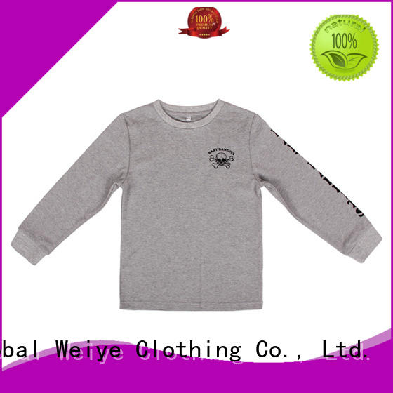 Global Weiye tees cool shirts for boys polyester for children