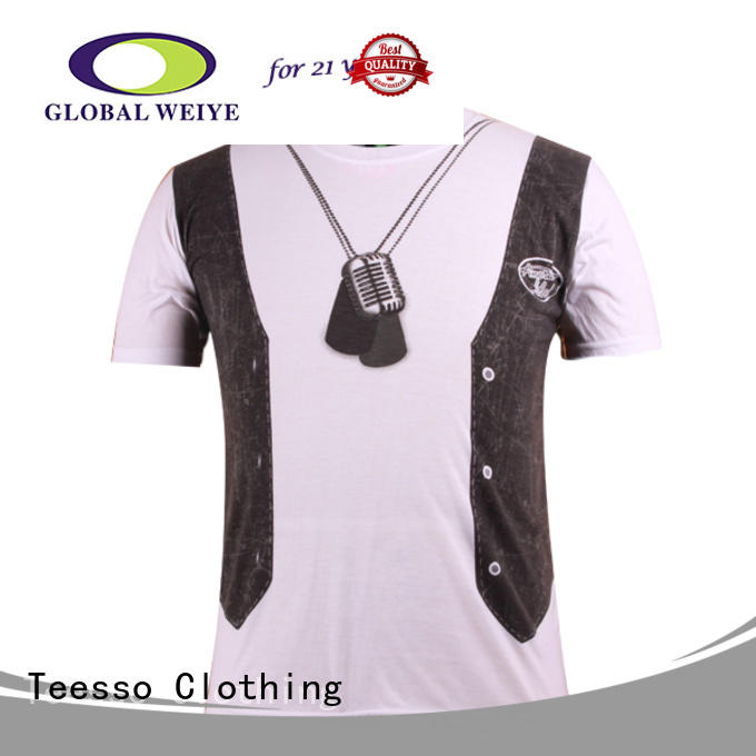 short printed tees for business for women