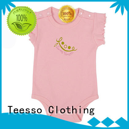 Teesso vests kids rompers oem for girl