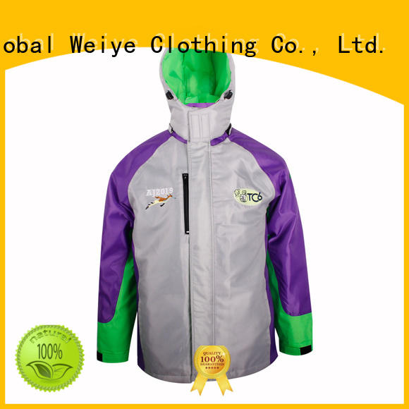 Global Weiye green cargo jacket mens fabric for men