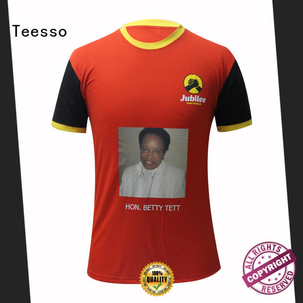 Teesso custom election shirts manufacturers for women