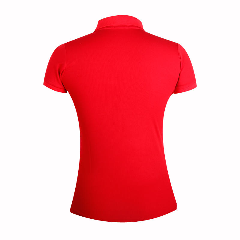 colored ladies cotton polo shirts with full sublimation logo for ladies-2
