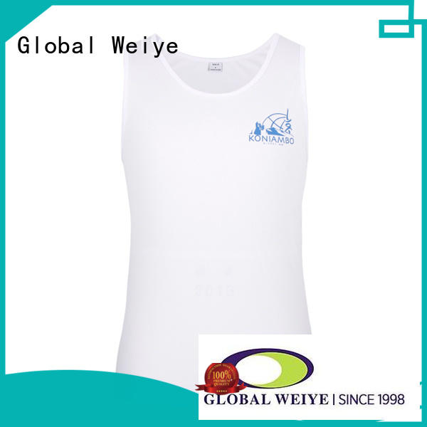 Global Weiye cool boys basketball jersey tops for men