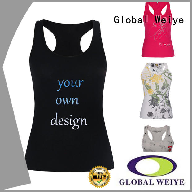 dry tank stringer womens sleeveless tops Global Weiye
