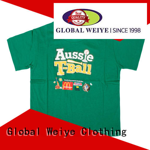 cool t shirts for boys polyester for kids Global Weiye