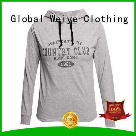Global Weiye white best hoodies hot sale for sale