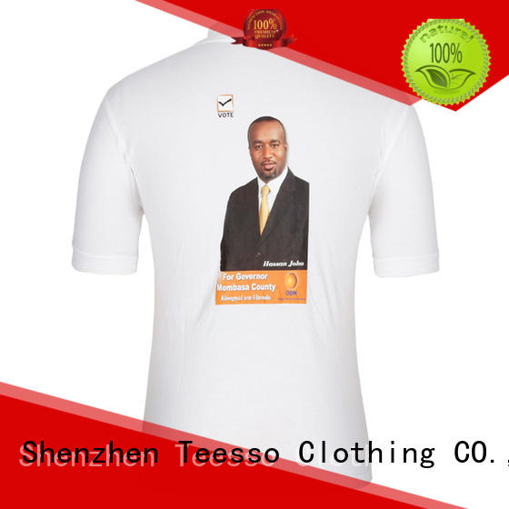 Teesso campaign shirts factory for activities