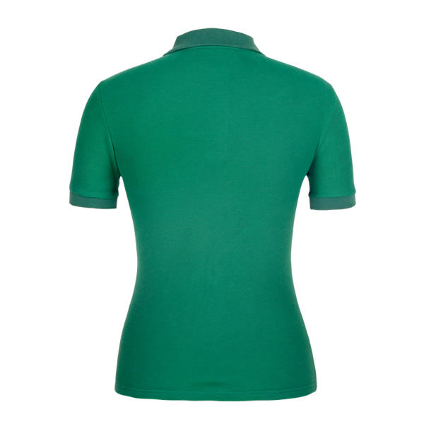 colored ladies cotton polo shirts design for ladies-2