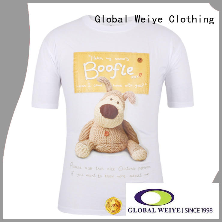 designed printing t shirt printing your own photo for ladies Global Weiye