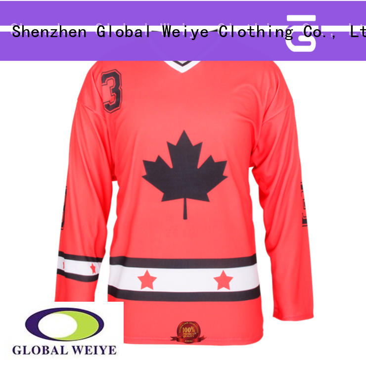 Global Weiye uniform vintage hockey jerseys cheap team for men