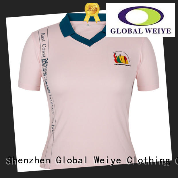 Global Weiye customized womens polo bulk wholesale