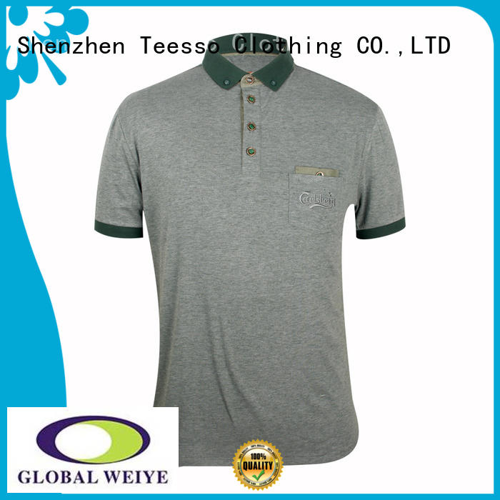 Teesso cheap mens polo shirts sleeves for men