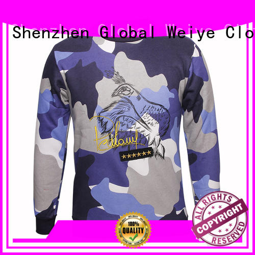 colorful designer sweatshirts oem for men