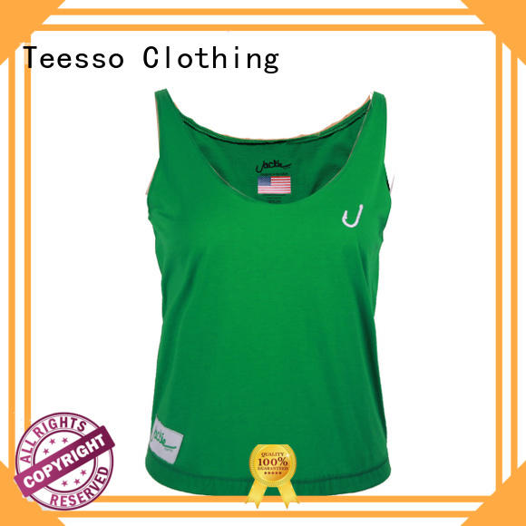 Teesso low cut womens cotton tank tops stringer for sale