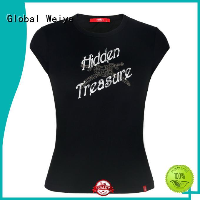 basic tees womens designed for ladies Global Weiye