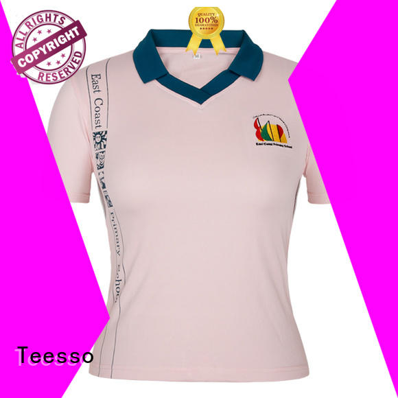 Teesso colored polo t shirts for women fit for girls
