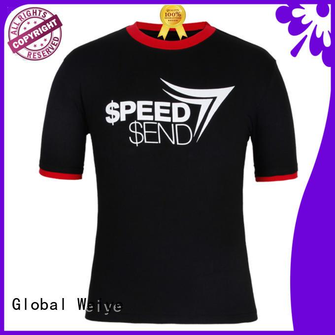 men t tshirt manufactures Global Weiye