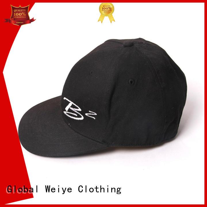 Global Weiye embroidery boys baseball caps colorful wholesale