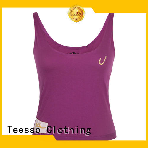 Teesso female tank top design for ladies