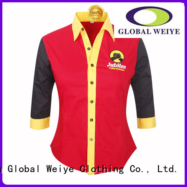 business uniform shirts office shirt for women Global Weiye