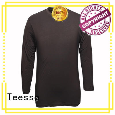 collar high quality blank t shirts apparel for women