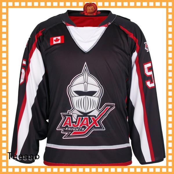 Teesso field cheap hockey jerseys printing for men