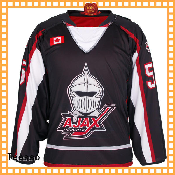 Teesso field cheap hockey jerseys printing for men