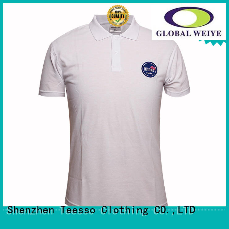 Teesso blank best polo shirts sleeves for men
