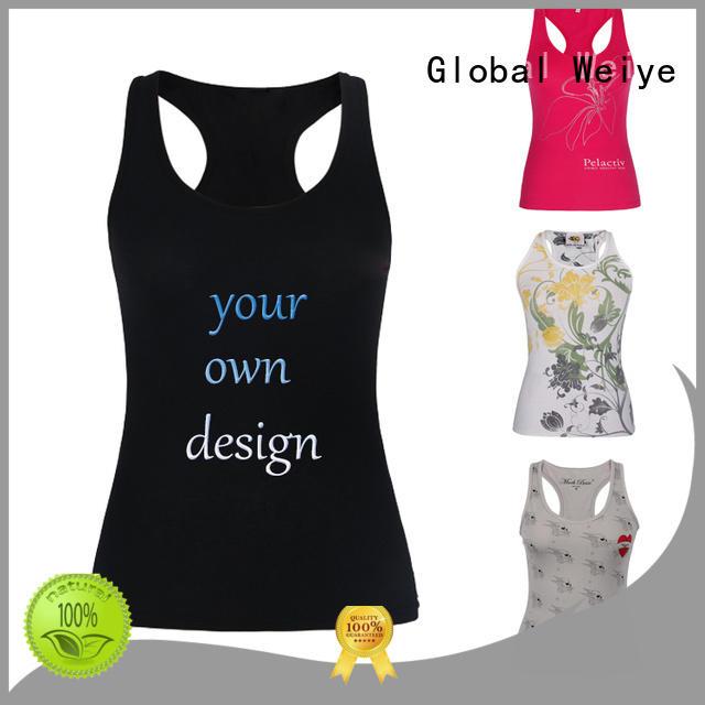 hot sale womens cotton tank tops design for ladies Global Weiye
